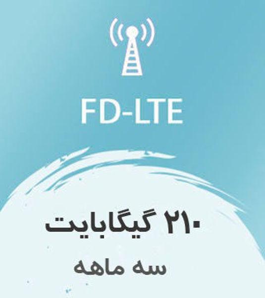 تصویر از اینترنت ثابت FD-LTE، سه ماهه 210 گیگ با سرعت ۱ تا ۴۰ مگ